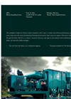Model S2 - Full Sized Abrasive Blasting/Recycling Machines Brochure