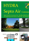 Septo-Air Ultimate System - <40 People / BOD <7760gm/hr - Septic Tank Conversion Unit – Datasheet