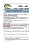 Hydra - Bio Loo - Biological Toilet Cleaner Datasheet