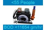 Septo-Air Ultimate System - Model <55 People / BOD <11654gm/hr - Septic Tank Conversion Unit