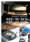 Moisture Analyzers MS-70