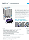 Eclipse - Model EBL 104e - Analytical Balances - Brochure