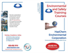 Environmental and Safety Compliance Training Brochure