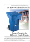 BossKart - Model 96 & 65 gallon - Rotational Waste Handling Systems Brochure