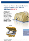 KONCAR - Model TG-WFD - System for Turbine Generator Excitation Winding Shorted Turns Detection Brochure