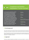 Case Study: Toxaphene and Dieldrin Degradation: Former Orchard 129
