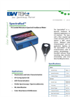 SpectraRad - Miniature Spectral Irradiance Meter Datasheet