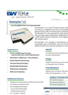 Exemplar LS - Model BRC115U - Low Straylight Smart CCD Spectrometer Datasheet