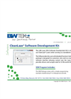 CleanLaze - Version SDK-L - Software Development Kit Datasheet