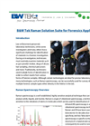 B&W Tek Raman Solution Suite for Forensics Applications - Application Note