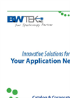 Innovative Solutions for Your Application Needs - Catalog & Corporate Profile