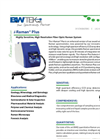 i-Raman Plus Highly Sensitive, High Resolution Fiber Optic Raman System Datasheet