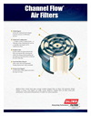 Baldwin - Channel Flow Air Filters Specifications Brochure