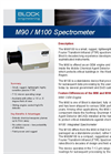 Model M90 and M100 - Single Detector FTIR Spectrometers Datasheet