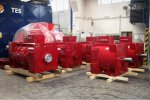 Asynchronous Generators for small Hydropower Plants, GAK Series