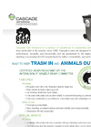Bear Cart - Residential Carts Brochure