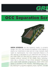 Model OCC - Separation Screens- Brochure