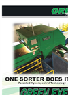 Green Eye - Optical Sorter Recycling System Brochure