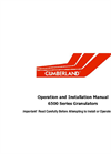 500 Series - Granulators Operation and Installation Manual