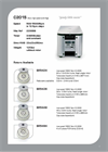 C2015 - Micro High Speed Centrifuge Brochure
