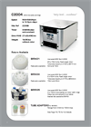 Model CR4000 - 1L Medium Prime Centrifuge Brochure