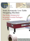 Dynaric - DF-30L - Low Table Semi-Automatic Strapping Machine Brochure