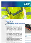 GDA-X Gas Detector Array - Explosives - Brochure