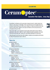 CeramOptec - - Optical Fiber Collimators Brochure