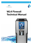 Waterlogic - Model WL400 Firewall - Hot and Cold Water Dispensers - Manual