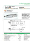 LAUMAS - FTL - Shear Beam Load Cells Datasheet
