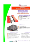 Model PBA400 - Weighbridge for Hook Lift Containers Datasheet