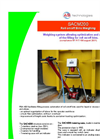 SACM200 Weighing System for Roll Off/On Bins used for Liquid Sludge Containing Datasheet