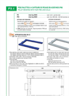 Laumas - Model PX - PXI - Stainless Steel Painted Pallet Weighing System Datasheet
