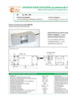 LAUMAS AR Single-Point Load Cell Datasheet