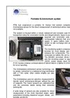 PPM Bespoke Engineered Portable IQ System Brochure