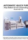 Mitsubishi - AQF-100 - Combustion Ion Chromatography Brochure