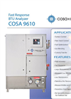 COSA - 9610 - Wobbe Index, Fast Response BTU Calorimeter Analyzer Brochure