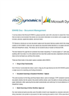 Version ENWIS Doc - Document Management Software Brochure