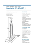 Cryofab - Model C2083-M21 - Cryogenic Valve Brochure