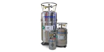 Model CL/CLPB Series - Portable Dewars for Liquid Nitrogen, Oxygen & Argon