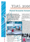Chromtech - 2000 - Thermal Desorption Autosampler (TDAS) - Brochure