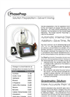 PhasePrep - Mix Solvents Instrument Brochure