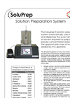 Soluprep - II - Solution Preparation System Brochure