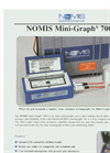 NOMIS Mini-Graph - 7000 - Seismograph System - Brochure