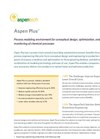 Aspen Plus - Solve CO2 Challenges for Chemical Process Simulation Software Brochure