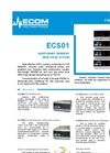 Model ECS01 - Quaternary Gradient Analytical System Brochure