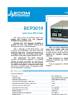 Model ECP2010 - Analytical HPLC Pump  Brochure