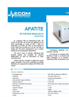 APATITE UV-VIS Fixed Wavelength Detector Brochure
