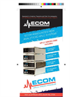 Ecom Announces New Analytical HPLC System Brochure
