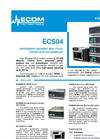 Model ECS04 - Quaternary Gradient Analytical System with Autosampler Brochure